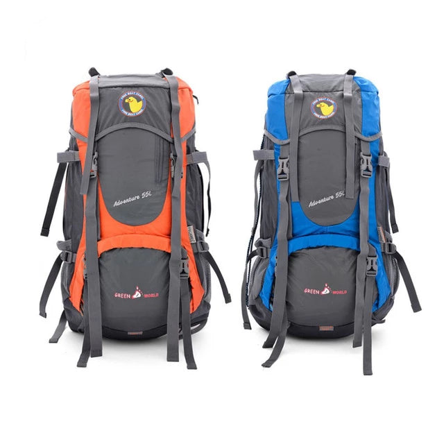 Large Capacity Outdoor Travel Backpack Camping - Trek Wanderer