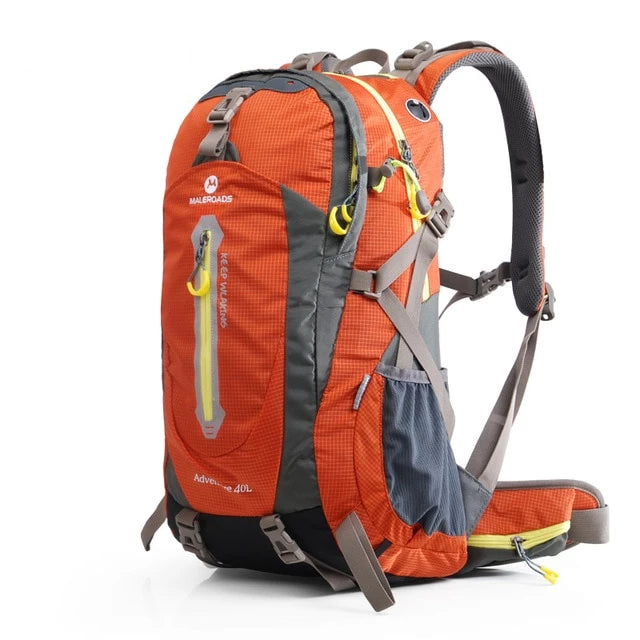 Rucksack Camping Hiking Backpack Sports Bag Outdoor Travel Backpack Trek Mountain Climb Equipment - Trek Wanderer