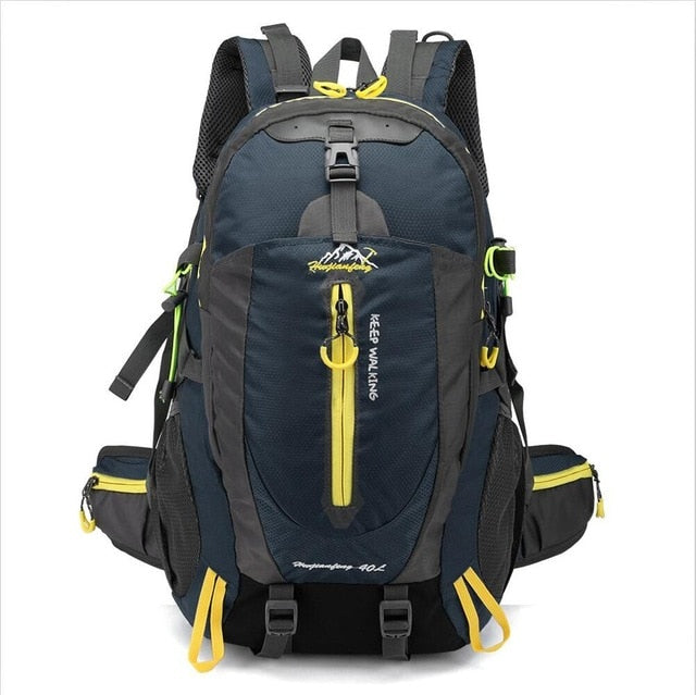 Waterproof Climbing Backpack Rucksack Outdoor Sports Bag Travel Backpack Camping Hiking Backpack - Trek Wanderer