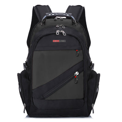 Travel Bag Swiss Backpack Polyester Bags Waterproof Anti Theft Backpack - Trek Wanderer
