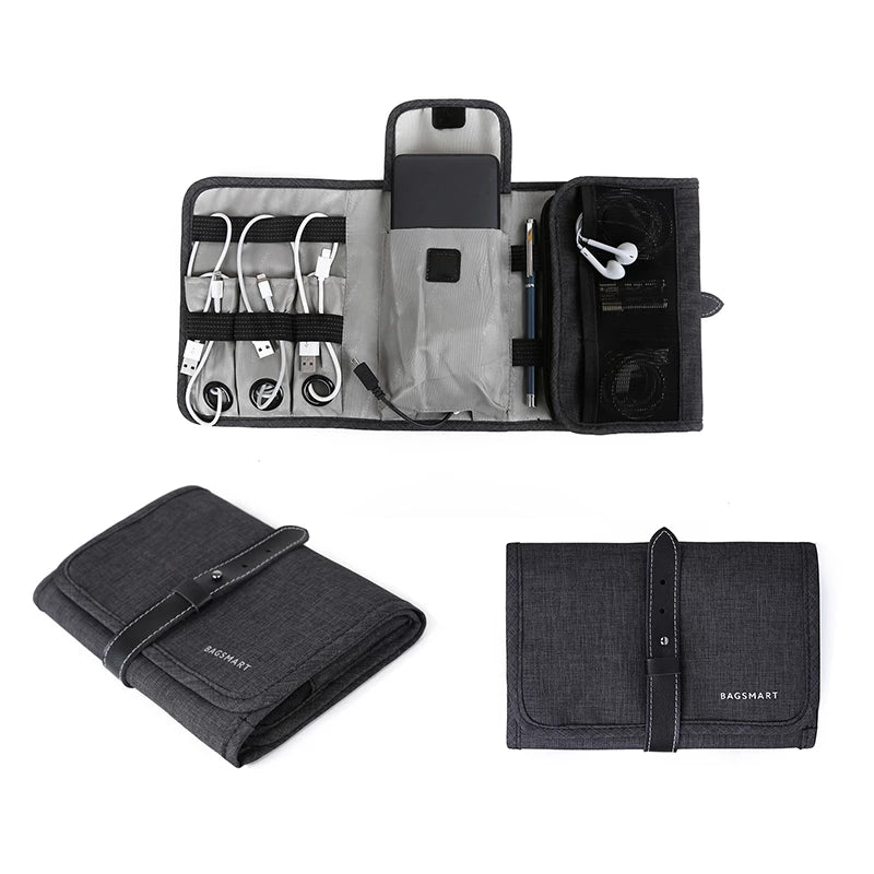 Portable Digital Accessories Gadget Devices Organizer - Trek Wanderer