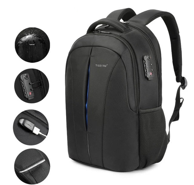 Waterproof Anti Theft Backpack Travel Teenage Backpack - Trek Wanderer