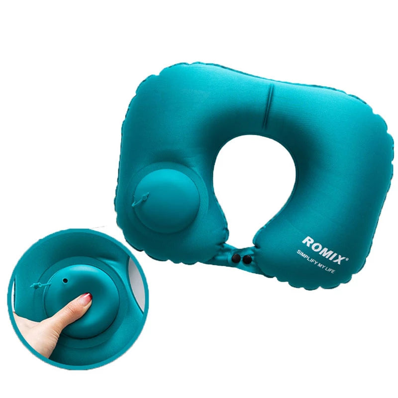 Inflatable pillow 4pc/s set Travel pillow U-type automatic inflatable pillow - Trek Wanderer