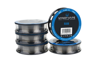 VANDY VAPE -  Ni80 WIRE SERIES 26 ga 30ft