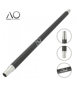 AO® CARBON MATTE BLACK & STAINLESS STEEL MOUTHPIECE