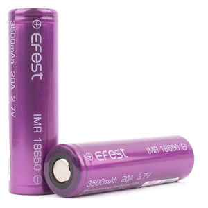 Efest 18650 3500mAh 20A 3.7v Flat Top IMR Battery