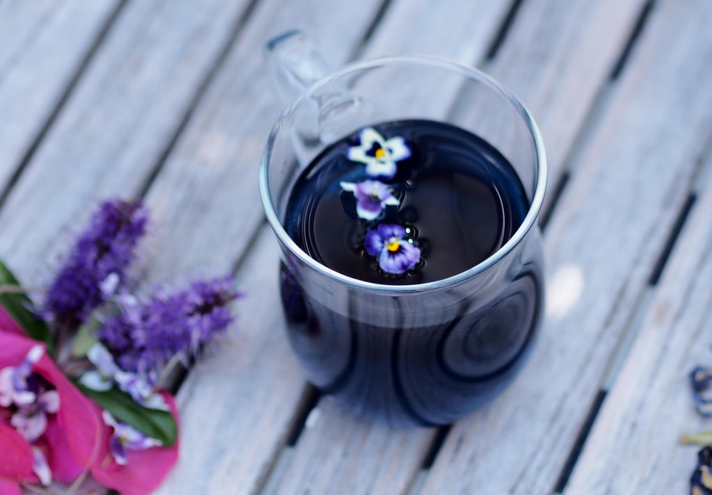 Magical Colour Changing Cocktail Recipe - Using Butterfly Blue Pea Tea