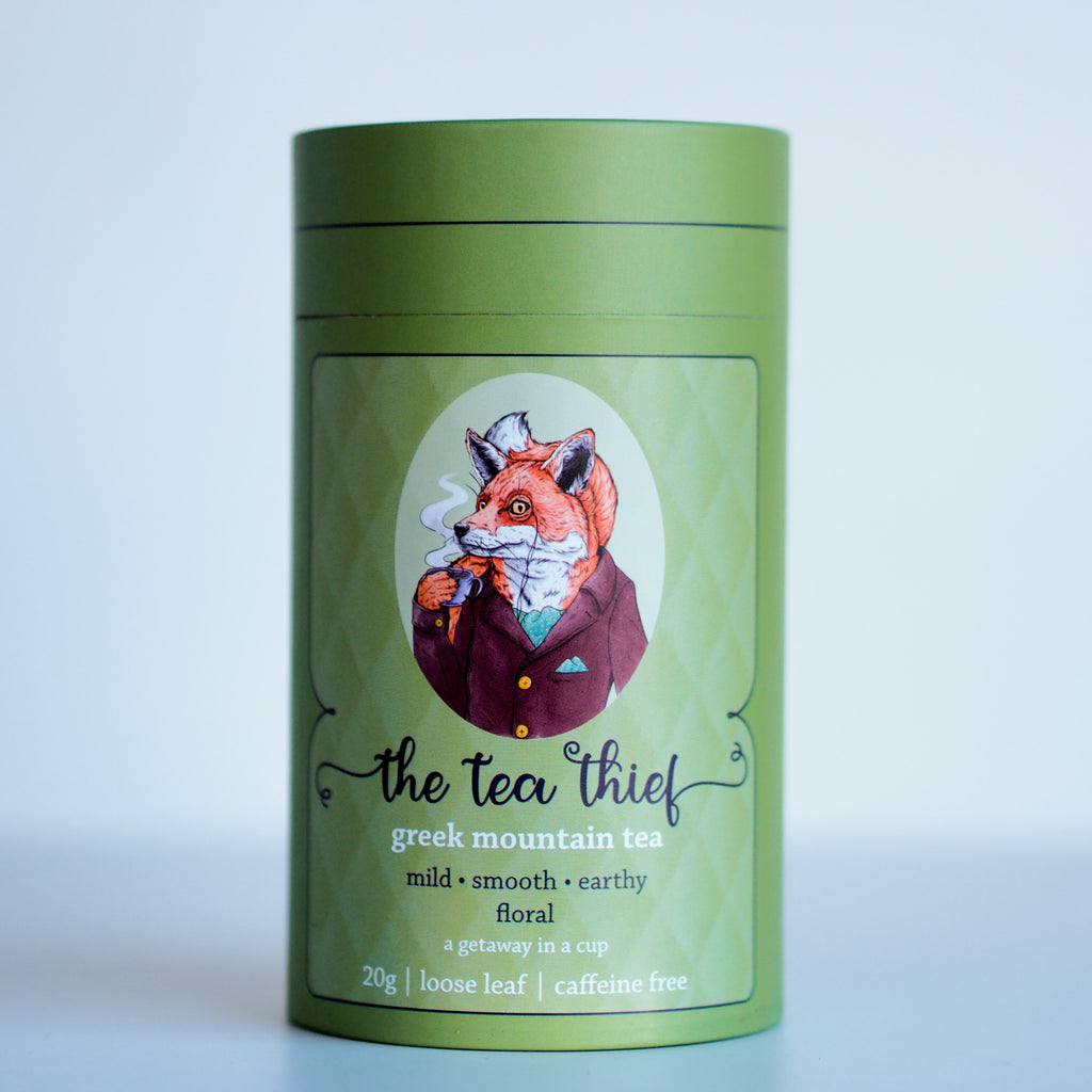 Organic Wild Greek Mountain Tea | A getaway in a cup - The Tea Thief
