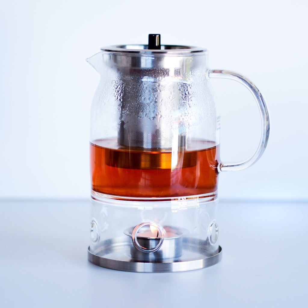 SAMADOYO Teapot with candle Warmer | 600ml - The Tea Thief