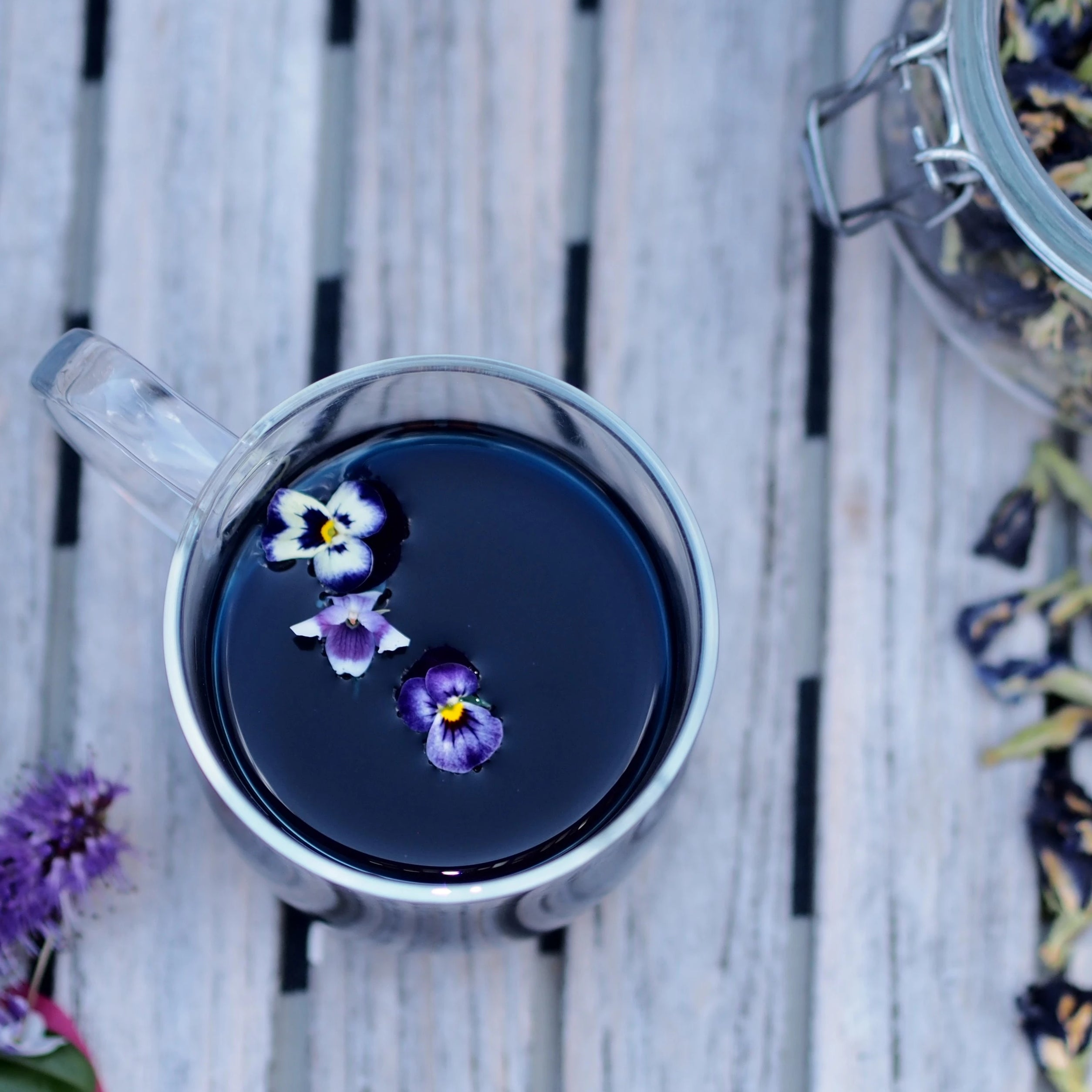Tickety-brew | Organic Butterfly Blue Pea Flower, Ginger and Lavender - The Tea Thief