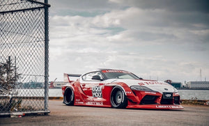 LB-WORKS SUPRA (A90) COMPLETE BODY KIT (FRP)/(CFRP) TYPE1 & TYPE2