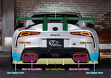 KUHL RACING A90 GR SUPRA WIDE BODY KIT SG FRP