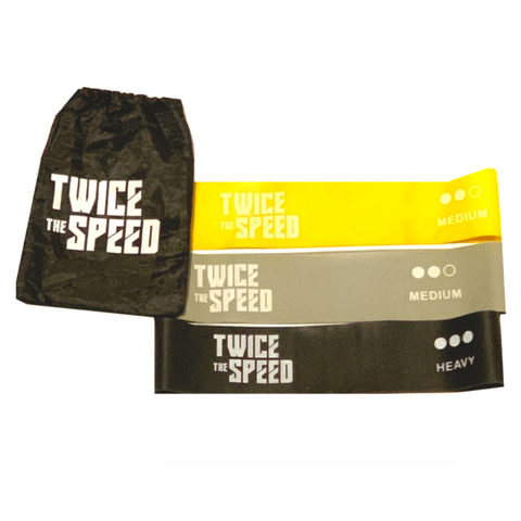 Twice The Speed Resistance Bands (Instant Access To TTS Speed Training) - Twice The Speed