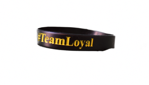 #TeamLoyal Twice The Speed Wristbands (FREE Shipping - For TTS Athletes Only) - Twice The Speed