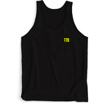 Twice The Speed Black Tank Top (TTS Logo Over Heart) - Twice The Speed