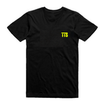 Twice The Speed Logo Black T-Shirt (TTS Logo On Heart) - Twice The Speed
