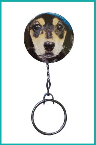 Beagle Office ID Badge Reel