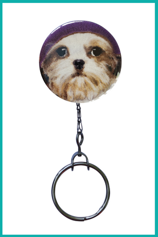 Maltese Office ID Badge Reel