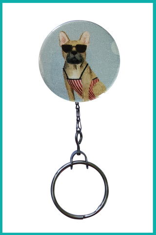 French at the Beach Office ID Badge Reel