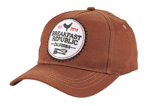 Breakfast Republic, brown cap