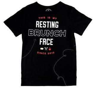 Resting Brunch, black shirt