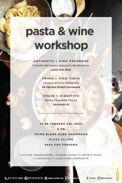 Pasta & Wine Workshop