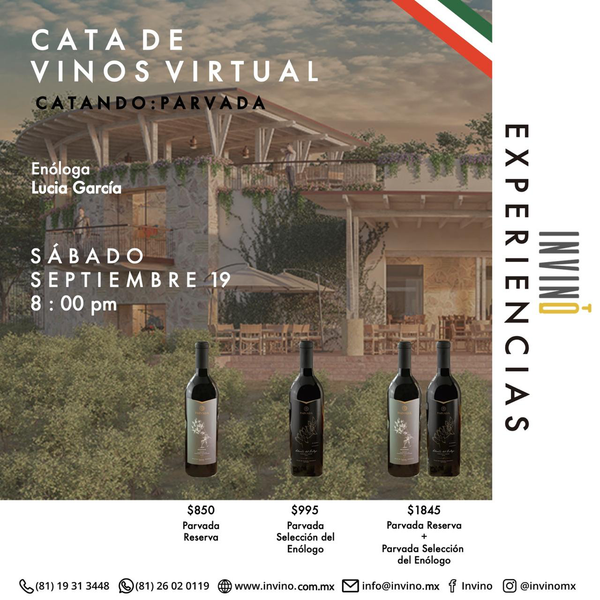 Cata Virtual: Catando México: Parvada