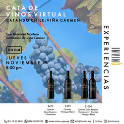 Cata Virtual: Catando Chile: Viña Carmen