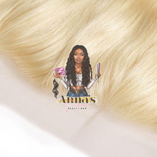 613 Blonde Straight Lace Frontal