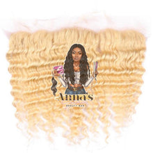 613 Blonde Deep Wave Lace Frontal