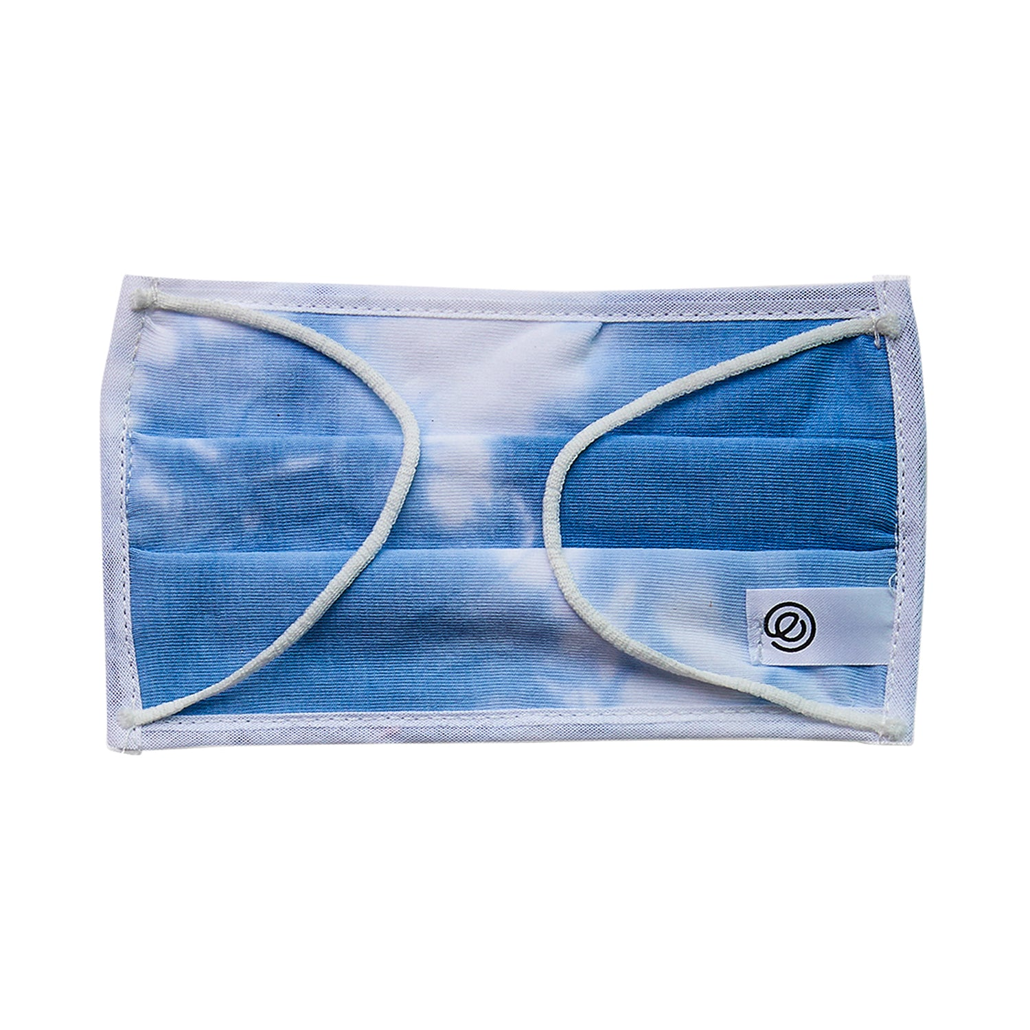 Easy Mask Pleated - Blue Tie Dye (3 Pack)
