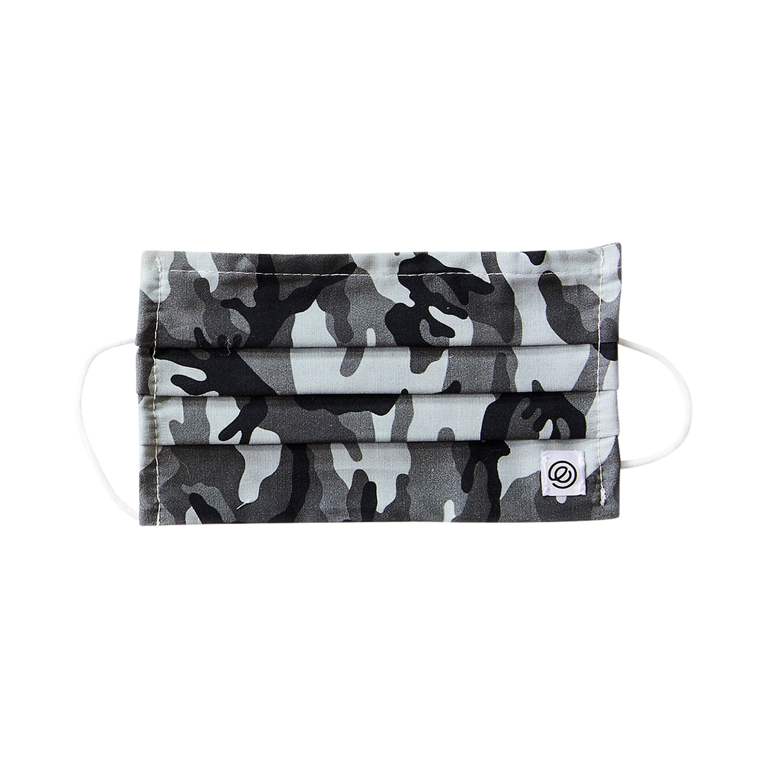 Easy Mask Pleated - Black Camo