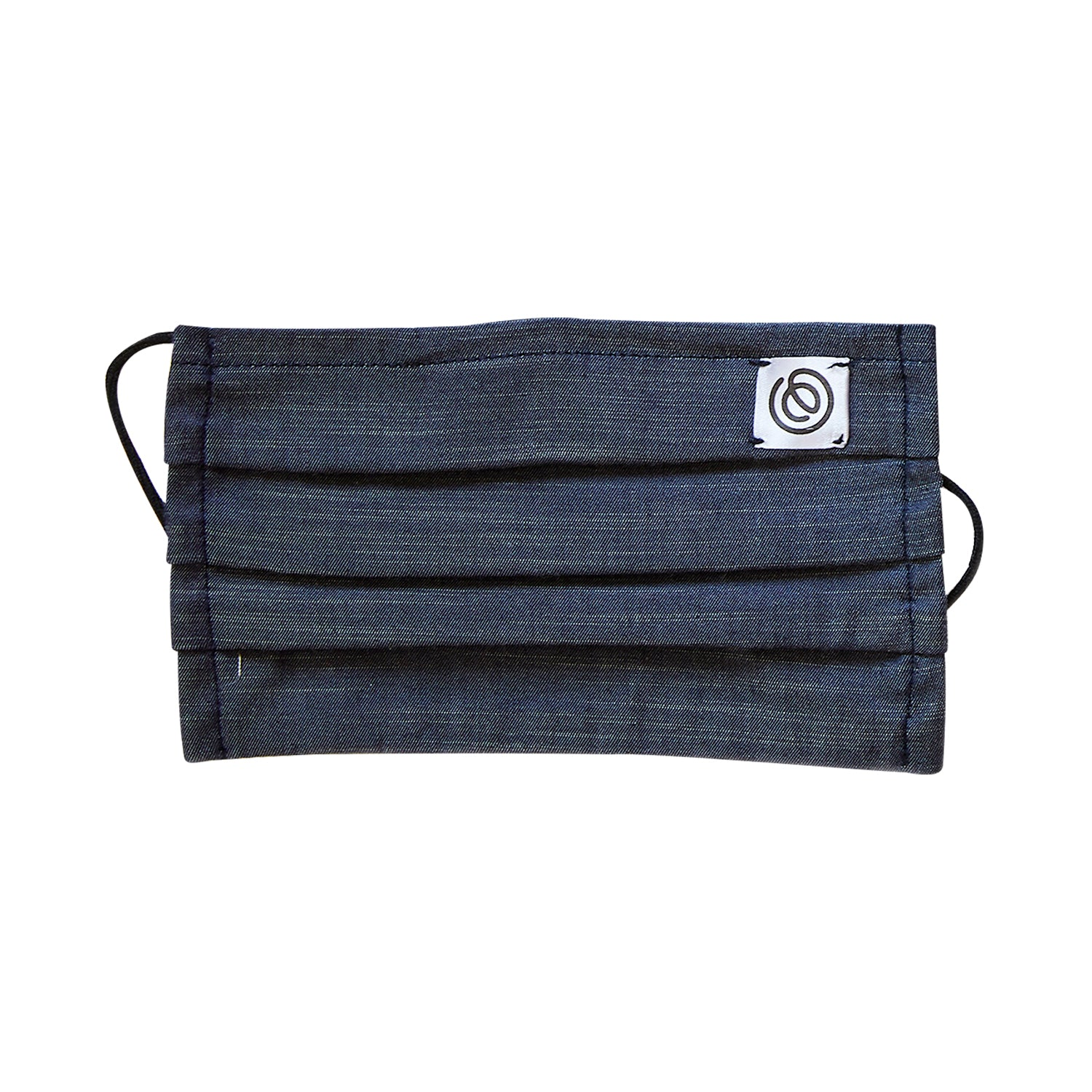Easy Mask Pleated - Indigo Chambray (3 Pack)
