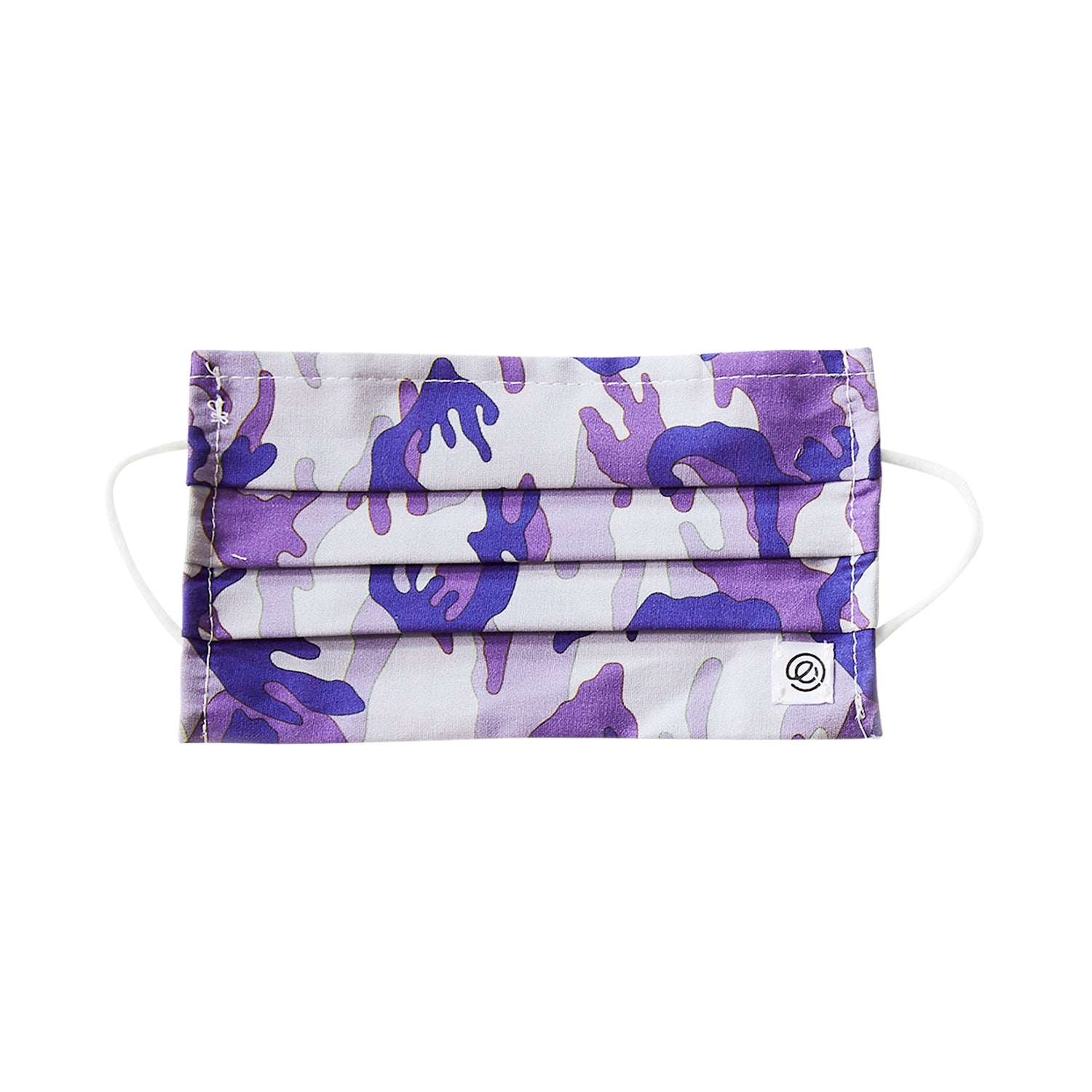 Easy Mask Pleated - Purple Camo (3 Pack)