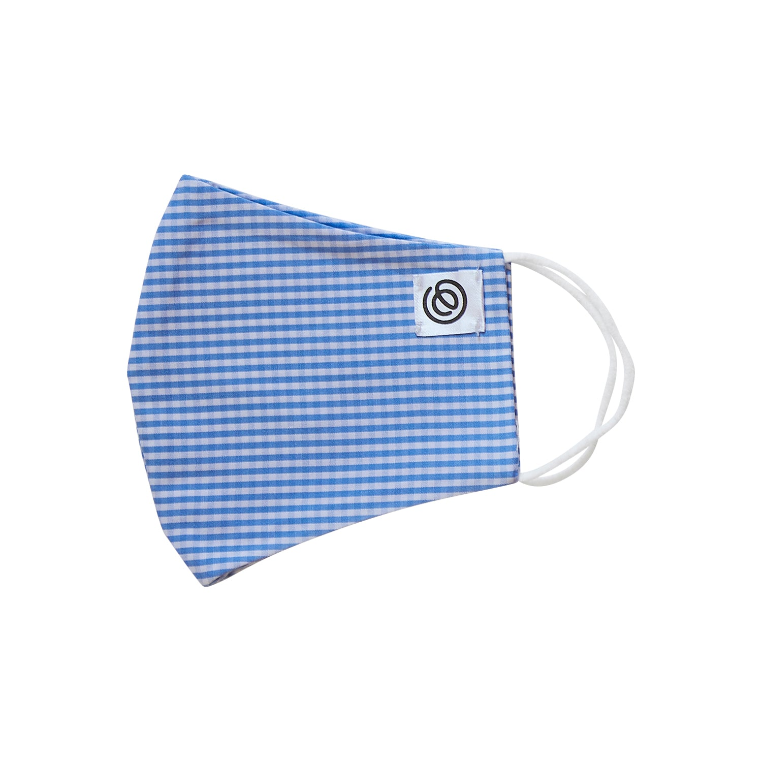 Easy Mask Full Face - Blue Gingham (3 Pack)