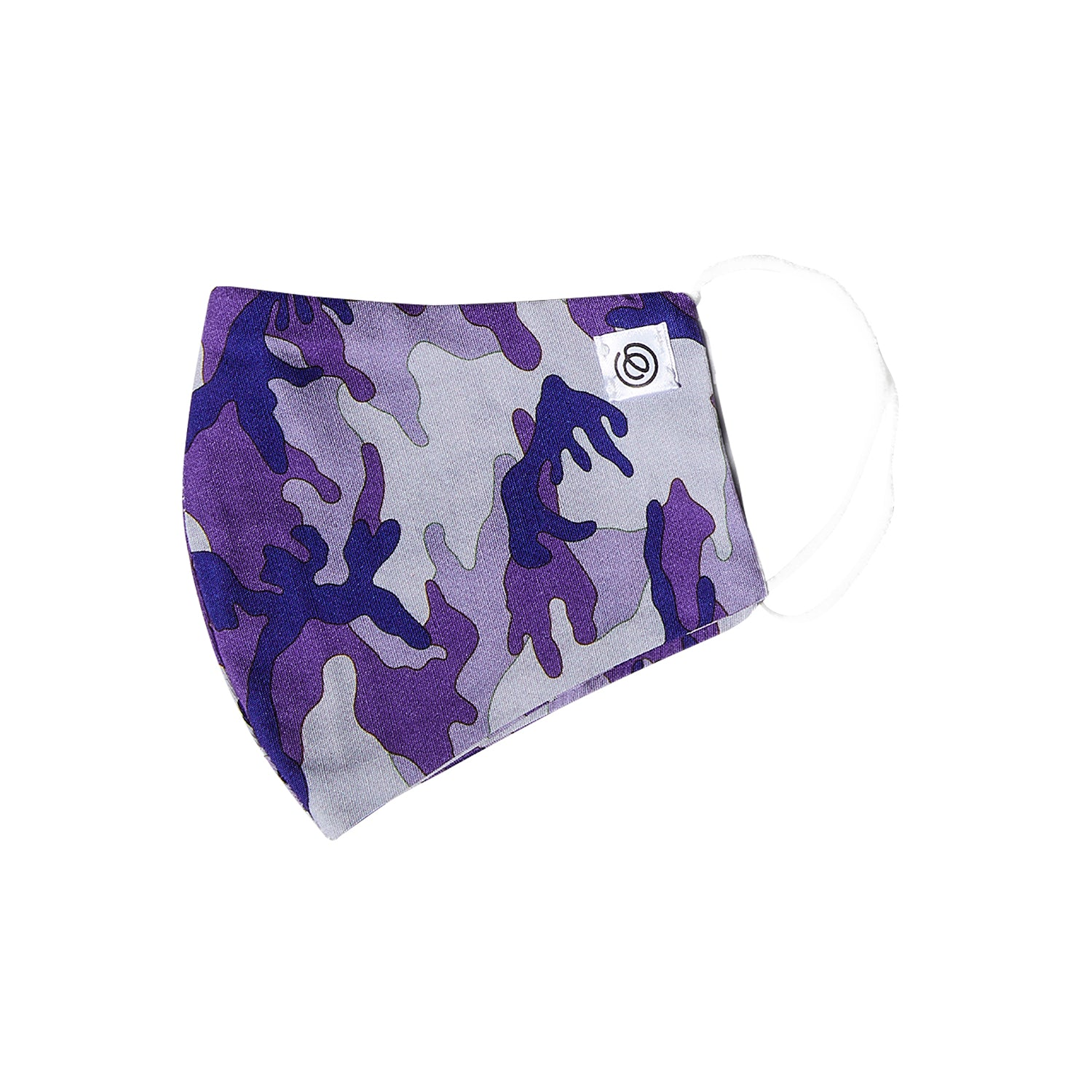 Easy Mask Full Face - Purple Camo (3 Pack)