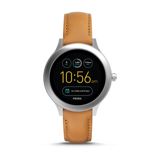 Fossil Gen 3 Smartwatch Q Venture Luggage Leather