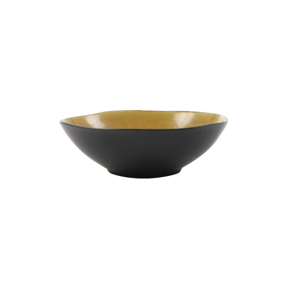 Bowl Urban ocher yellow - 20 cm