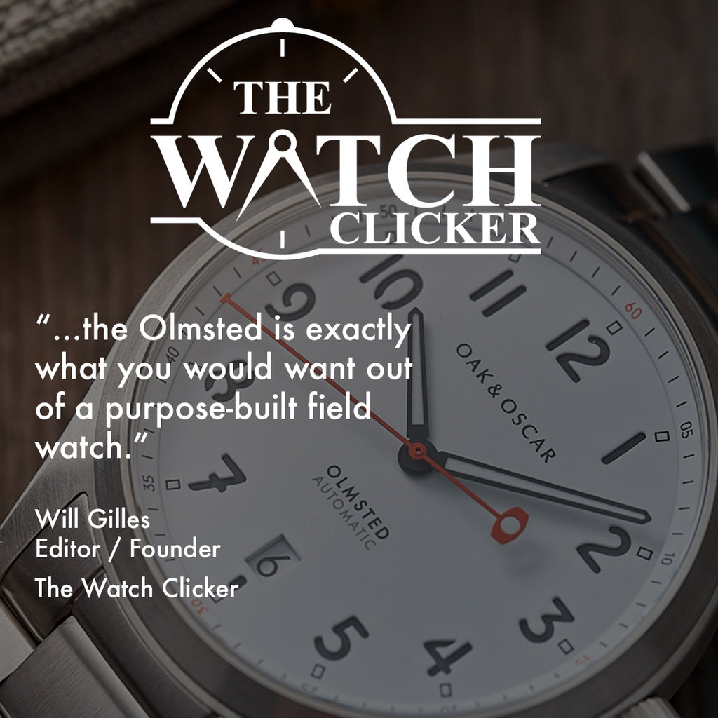 "IN THE NEWS: ""…exactly what you would want out of a purpose-built field watch."""