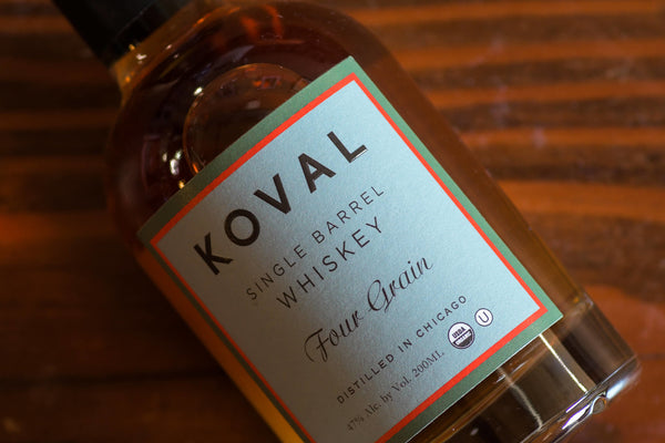 Hey Bartender: Koval Single Barrel Four Grain Whiskey