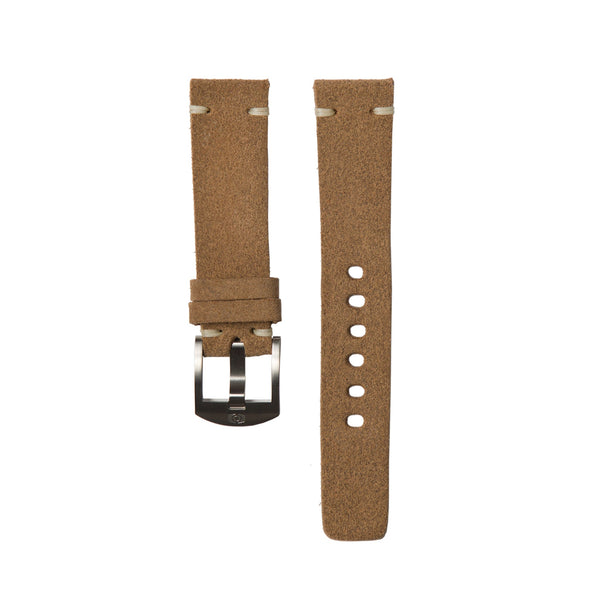 Walnut Suede Strap - 20MM