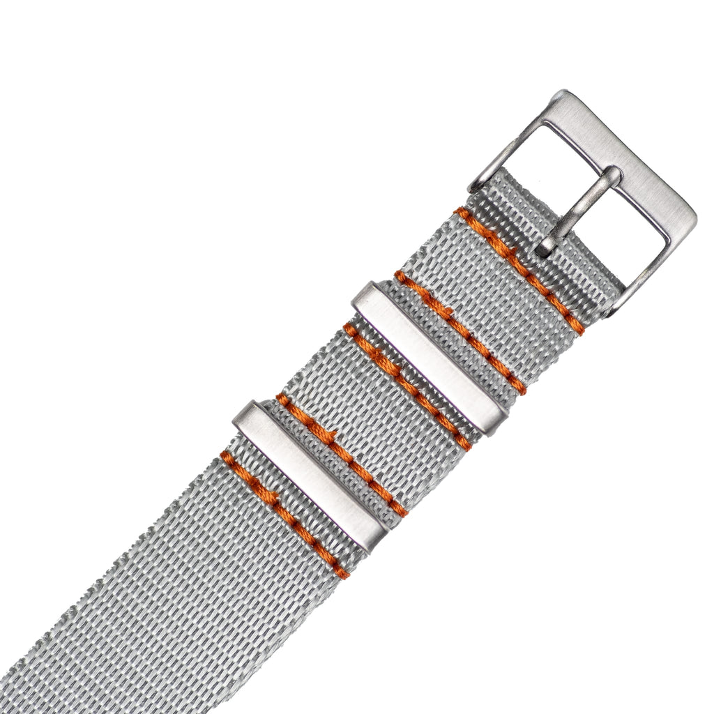 Grey Nylon Strap - 20mm