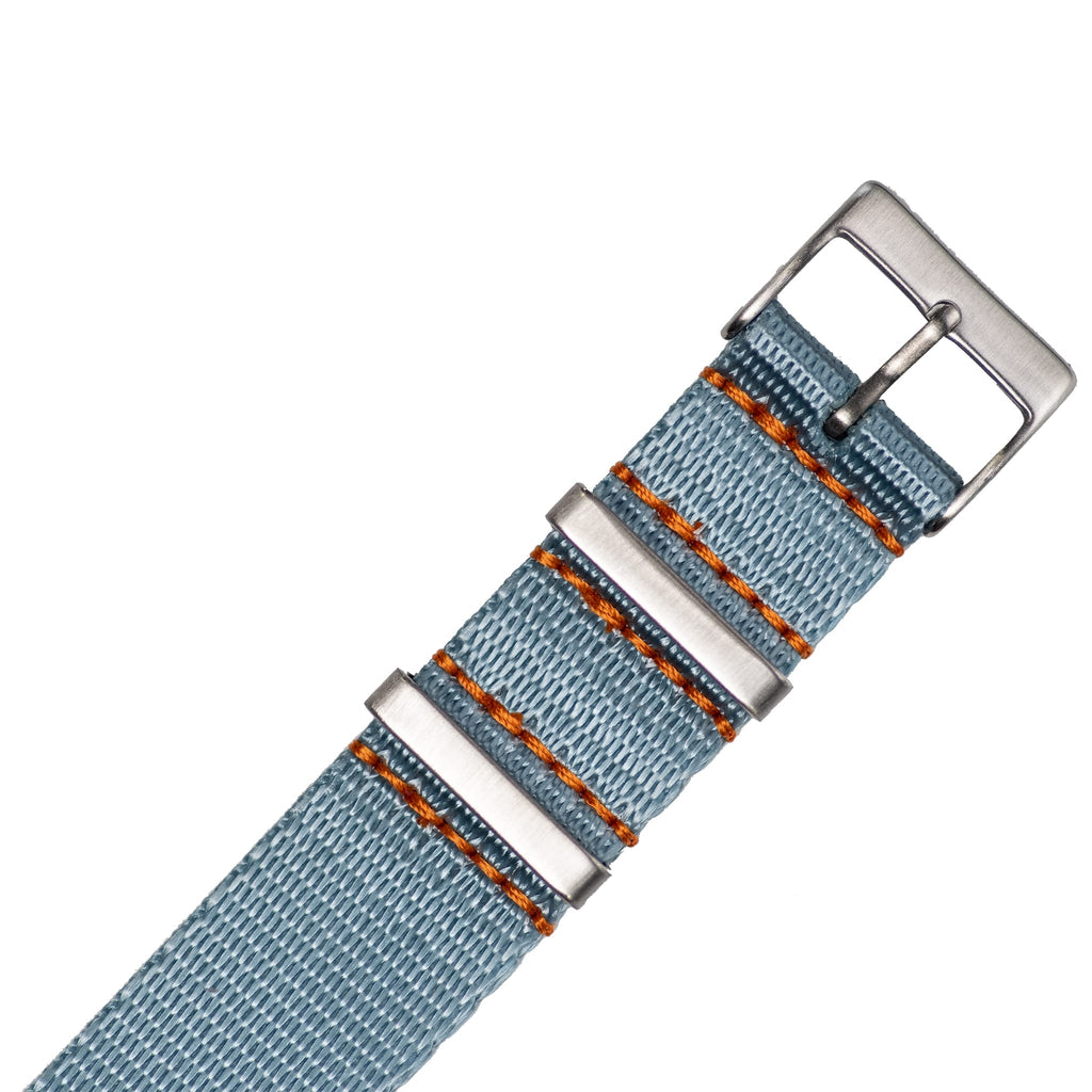 Ice Blue Nylon Strap - 20mm