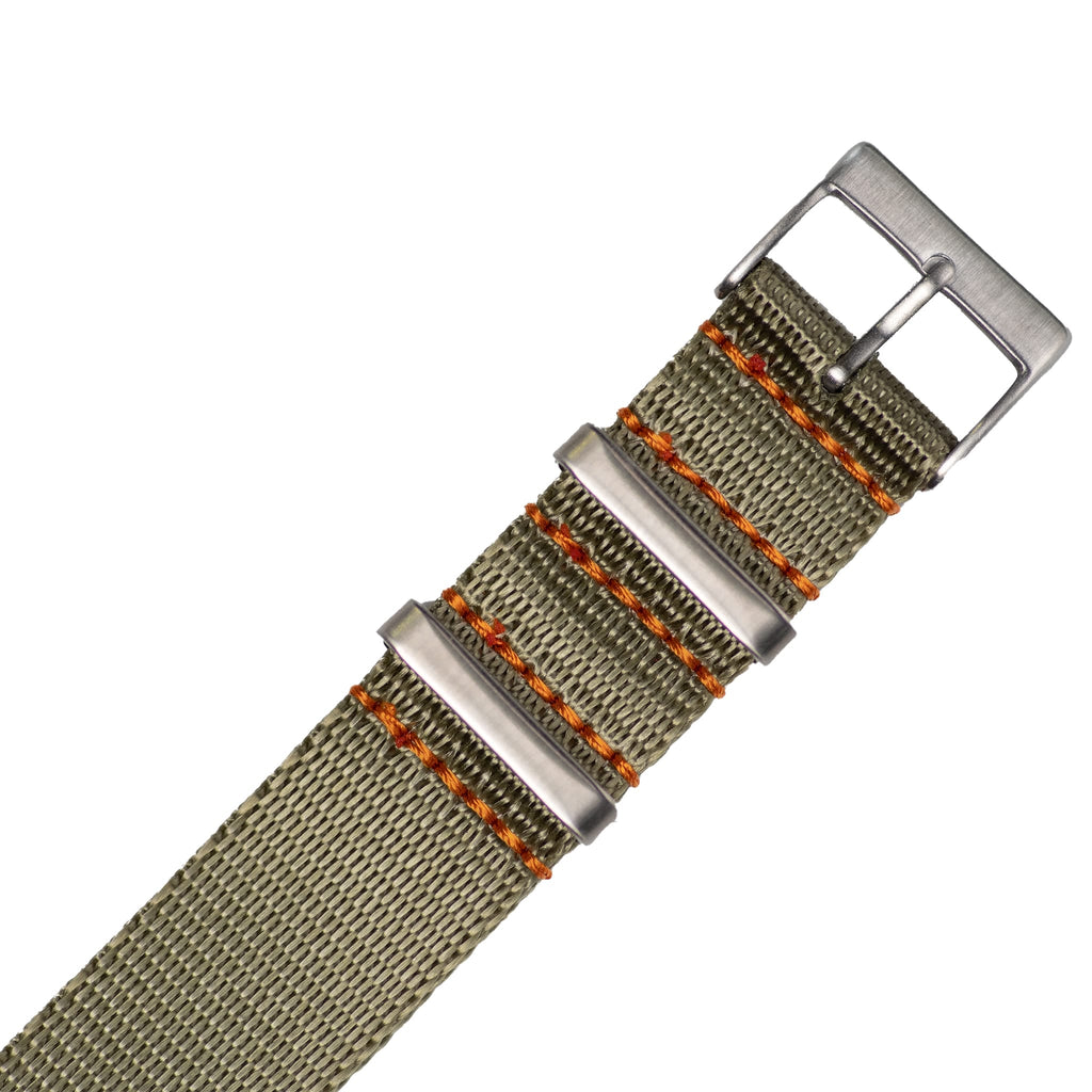 Sage Green Nylon Strap - 20mm-Oak & Oscar