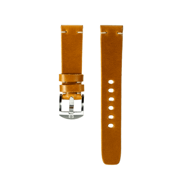 Honey Wheat Leather Strap - 20mm