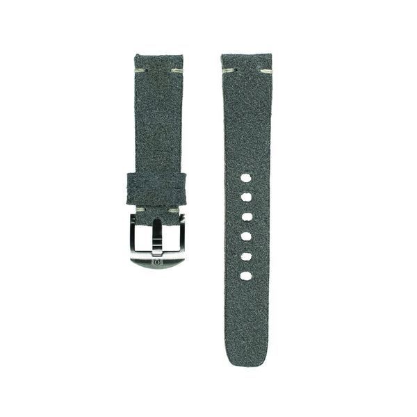 Petrol Blue Suede Strap - 20mm