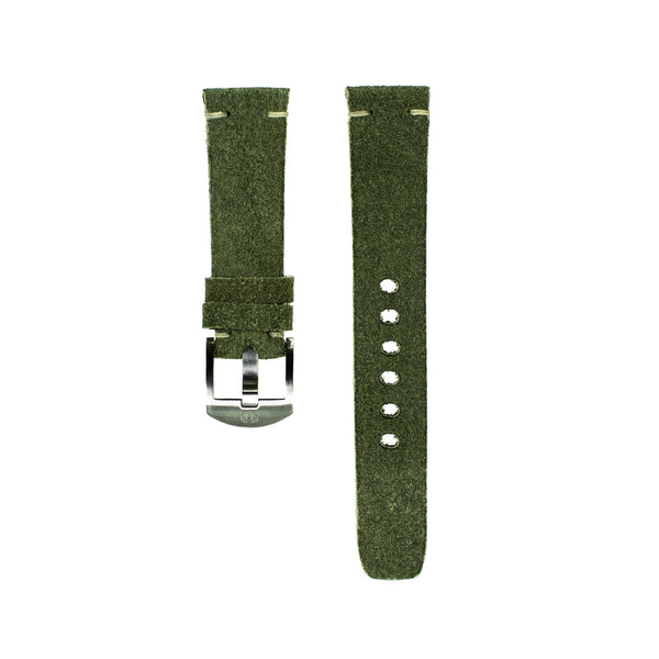 Green Suede Strap - 20MM