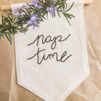 Nap Time Wall Banner