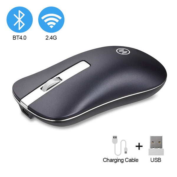 Bluetooth Silent Rechargeable Mouse (3 colors for options)