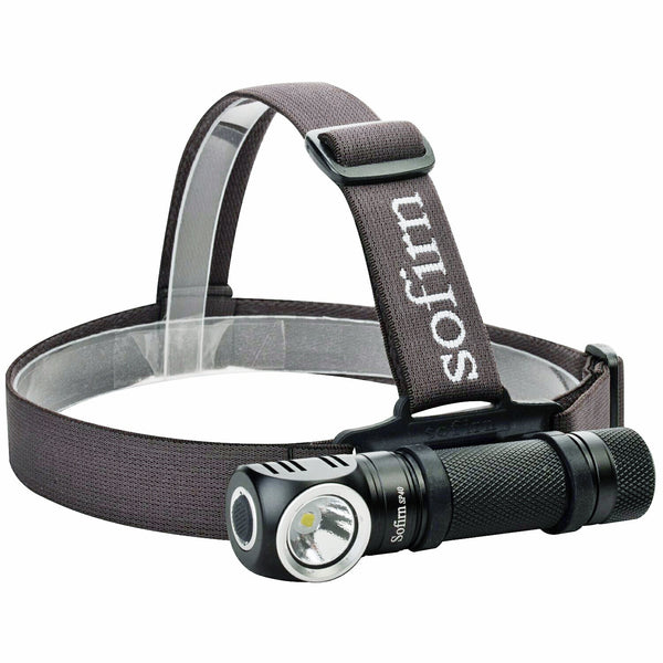 Headlamp with CREE XPL LED - 1200lm